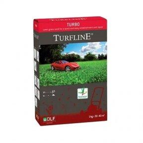 Atnaujinimui ir atsėjimui vėjų sėklų mišinys Turfline Turbo 1 kg