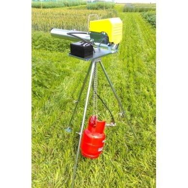 Elektroninė dujų patranka paukščių ir žvėrių baidymui 2
