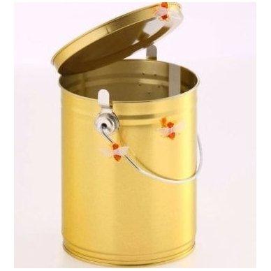 Metalinis kibirėlis maisto ir kitiems produktams 2,5 kg