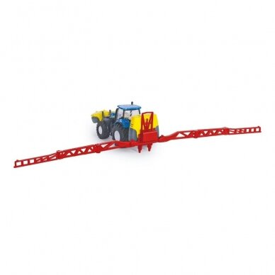 Modelis Traktorius New Holland su Kverneland pakabinamu purkštuvu 5
