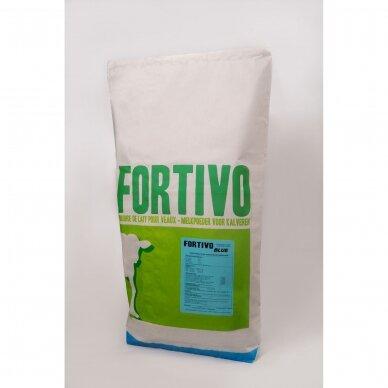 Pieno pakaitalai veršeliams Fortivo Blue 0%