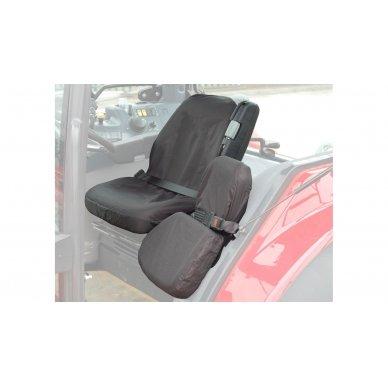 Traktorių keleivio sėdynės apdangalas Case, New Holland, Claas, Fendt 2