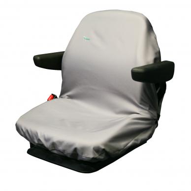 Universalus traktorių sėdynių apdangalas modelis Large Pilkas