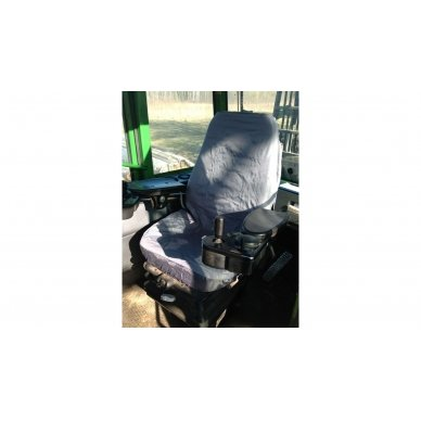 Universalus traktorių sėdynių apdangalas modelis Large Pilkas 4
