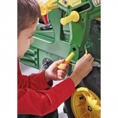 Traktoriukas su pavaromis John Deere 7930 7