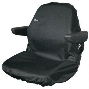 Universalus traktorių sėdynių apdangalas modelis Large juodas