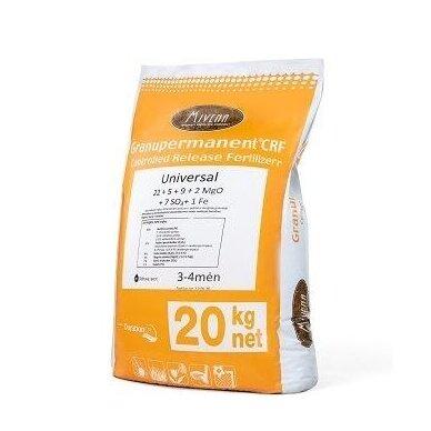 Universalios pavasarinės-vasarinės vejų trąšos Granupermanent® 20 kg