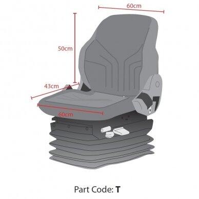 Universalus traktorių sėdynių apdangalas Standart 2